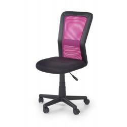 COSMO fotel młodzieżowy czarno-różowy - Halmar