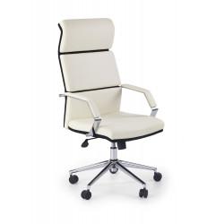 COSTA fotel gabinetowy biało-czarny - Halmar