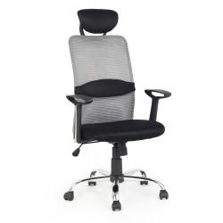 DANCAN fotel pracowniczy czarno-popielaty - Halmar