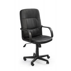 DENZEL fotel pracowniczy czarny - Halmar