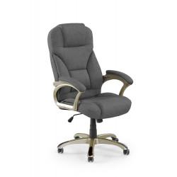 DESMOND 2 fotel gabinetowy ciemny popielaty - Halmar