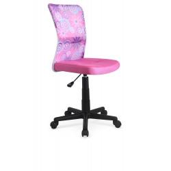 DINGO fotel młodzieżowy różowy - Halmar