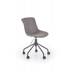 DOBLO fotel młodzieżowy popielaty - Halmar