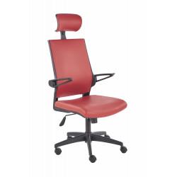 DUCAT fotel pracowniczy czerwony - Halmar