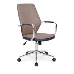 ELITE fotel pracowniczy beżowo-czarny - Halmar