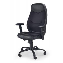 GEORG fotel prawcowniczy czarny - Halmar
