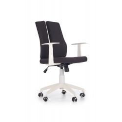 IRON 2 fotel pracowniczy biało - czarny - Halmar