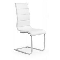 K104 krzesło biały/biały ekoskóra - Halmar