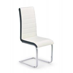 K132 krzesło biało-czarny - Halmar