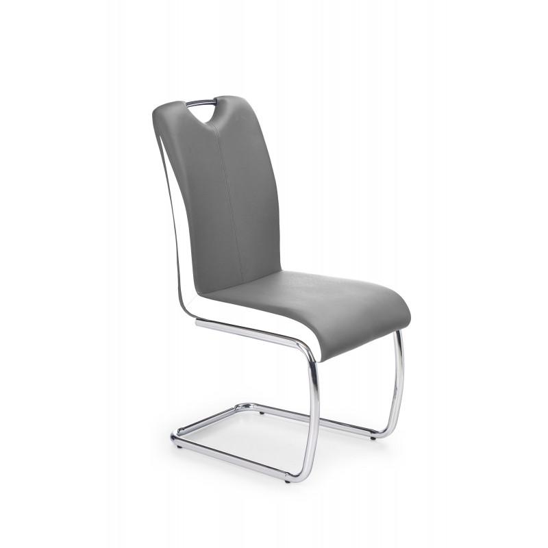 K184 krzesło popielaty/biały - Halmar
