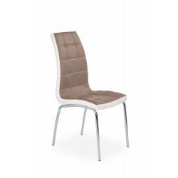 K186 krzesło cappuccino - biały - Halmar