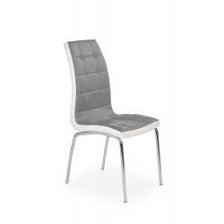 K186 krzesło popielato - biały - Halmar