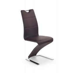 K188 krzesło brązowy - Halmar