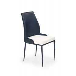 K199 krzesło biało-czarny - Halmar