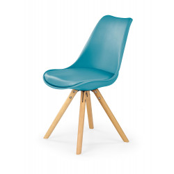 K201 krzesło turkusowy - Halmar