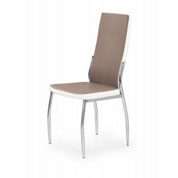 K210 krzesło cappucino / biały - Halmar