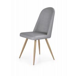 K214 krzesło popiel / dąb miodowy - Halmar