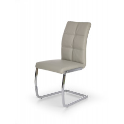 K228 krzesło jasny popiel - Halmar