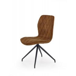 K237 krzesło brązowy - Halmar