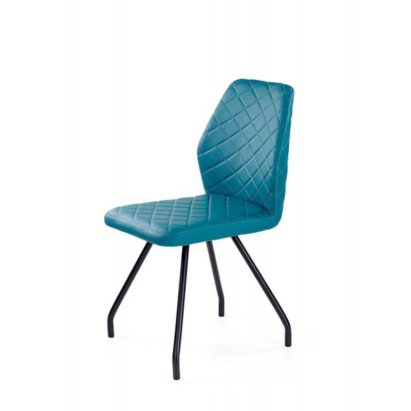 K242 krzesło turkusowy - Halmar