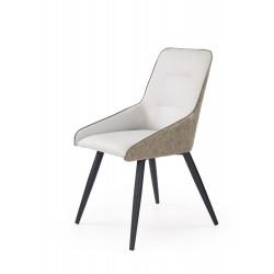 K243 krzesło jasny beton / popiel - Halmar