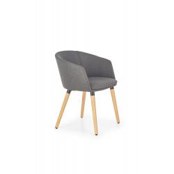 K266 krzesło ciemny popiel - Halmar