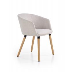 K266 krzesło jasny popiel - Halmar