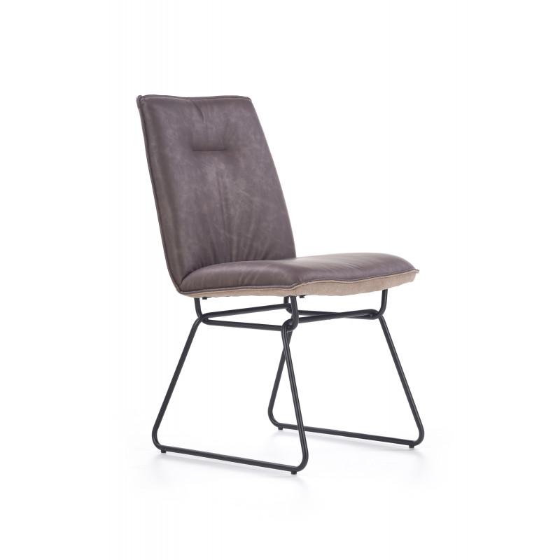 K270 krzesło ciemny popiel - Halmar