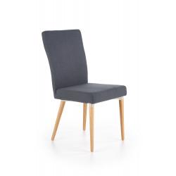 K273 krzesło ciemny popiel - Halmar