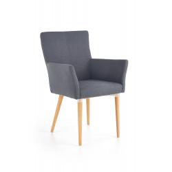 K274 krzesło ciemny popiel - Halmar