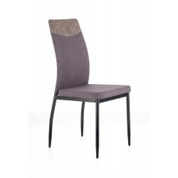 K276 krzesło ciemny popiel / popiel MIAMI - Halmar