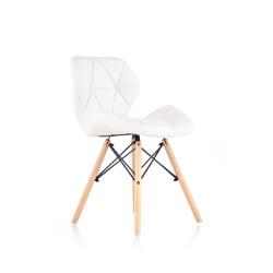 K281 krzesło biały / buk - Halmar