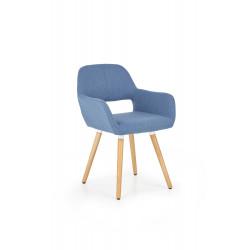 K283 krzesło niebieskie - Halmar