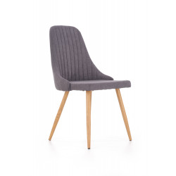 K285 krzesło ciemny popiel - Halmar