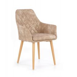K287 krzesło beżowy - Halmar