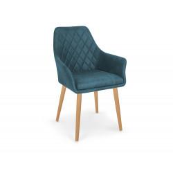 K287 krzesło granatowy - Halmar