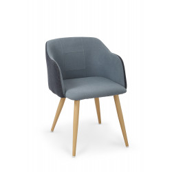 K288 krzesło granatowy / niebieski - Halmar