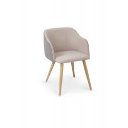 K288 krzesło jasny popiel / beżowy - Halmar