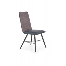 K289 krzesło jasny popiel / ciemny popiel - Halmar