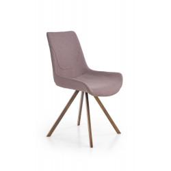 K290 krzesło popielaty / złoty antyczny - Halmar