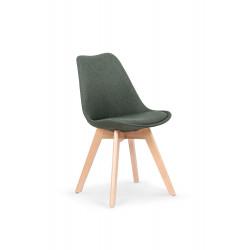 K303 krzesło ciemny zielony / buk - Halmar