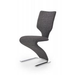 K307 krzesło czarny / ciemny popiel - Halmar