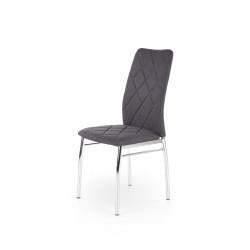 K309 krzesło ciemny popiel  - Halmar