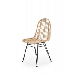 K337 krzesło rattan naturalny - Halmar