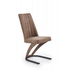 K338 krzesło brązowy (12szt) - Halmar