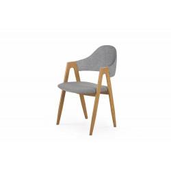 K344 krzesło popielate ( 1p2szt ) - Halmar