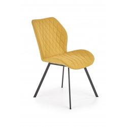 K360 krzesło musztardowy - Halmar