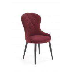 K366 krzesło bordowy - Halmar