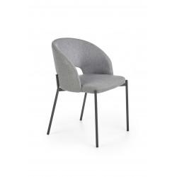 K373 krzesło popielaty - Halmar