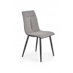 K374 krzesło popielaty - Halmar